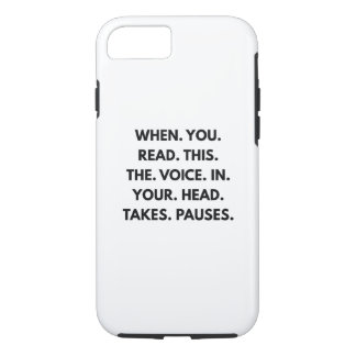 When You Read This iPhone 7 Case