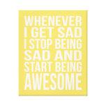 Whenever I Get Sad...