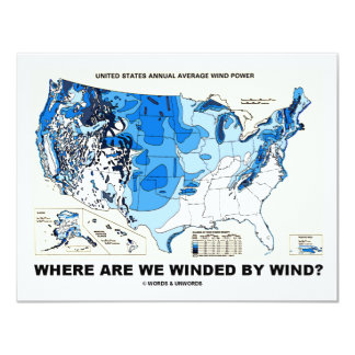 Where Are We Winded By Wind? (Wind Power) Card
