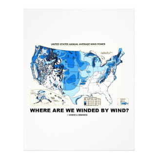 Where Are We Winded By Wind Wind Power Flyers