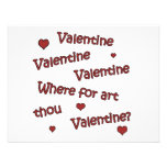 Where Art Thou Valentine? Personalized Invitation