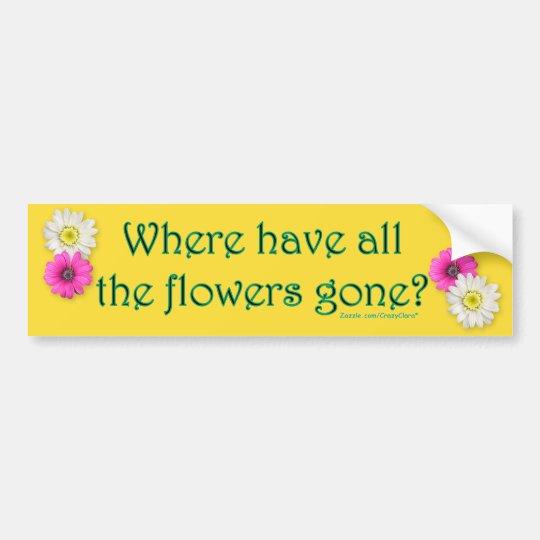 Where? Bumper Sticker