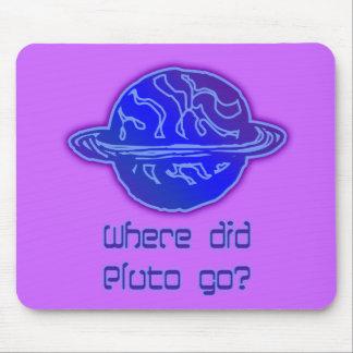 Where Did Pluto Go Mousepad