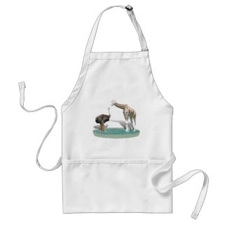 Where did you get those Cool Boots???! Adult Apron