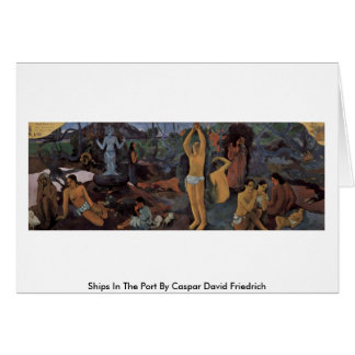 Where Do We Come From? By Paul Gauguin Greeting Card