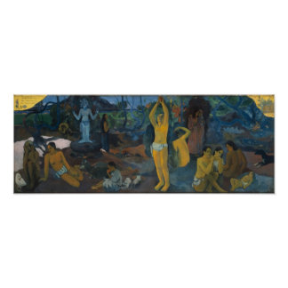 Where Do We Come From - Paul Gauguin Print