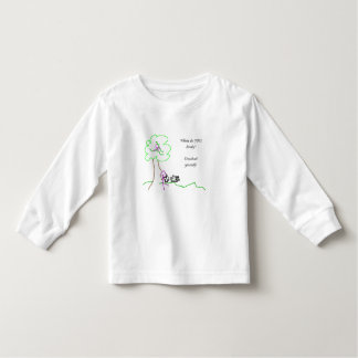 Where do you study? toddler T-Shirt