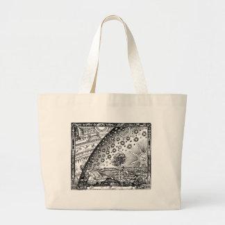 Where heaven and Earth meet Jumbo Tote Bag