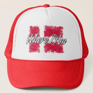 Where I Am Trucker Hat