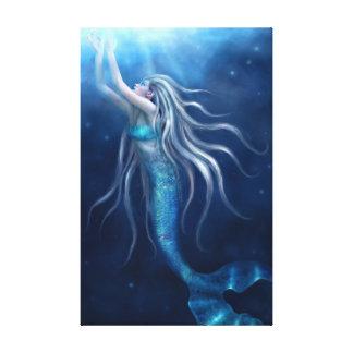 Where I belong Mermaid Wrapped Canvas