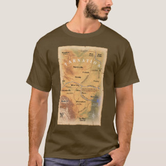 Where in Tarnation? (Funny Map) T-Shirt