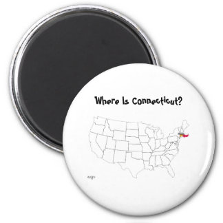 Where Is Connecticut? Magnet