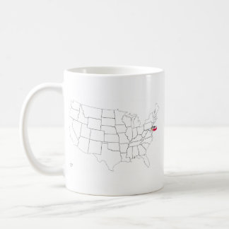 Where Is Delaware? Coffee Mug