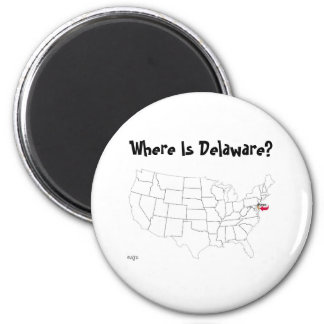 Where Is Delaware? Magnet