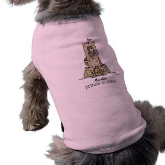 Where is my Prince? Doggie Tee Shirt