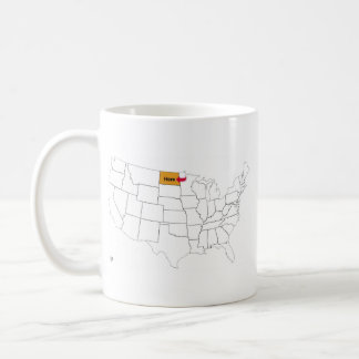 Where Is North Dakota? Coffee Mug