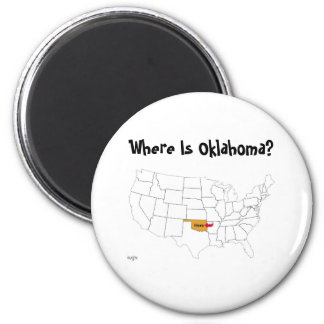 Where Is Oklahoma? Magnet