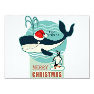 Where is Santa Claus? 17 Cm X 22 Cm Invitation Card