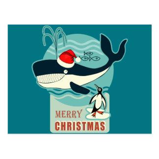 Where is Santa Claus? Postcard