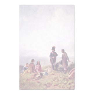 Where Is The Pass By Spitzweg Carl Personalized Stationery
