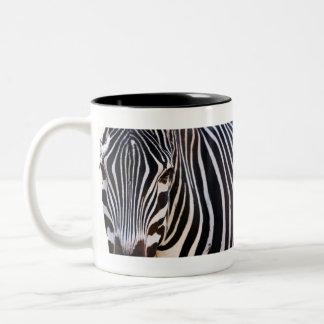 Where Is The Zebra? Two-Tone Coffee Mug