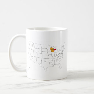 Where Is Wisconsin? Coffee Mug