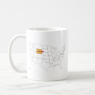 Where Is Wyoming? Coffee Mug