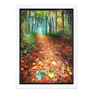 Where leaves gather, Fall decor, Michigan, autumn Photo Print