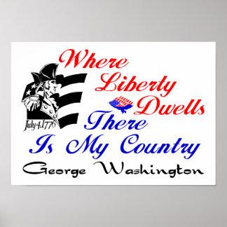 Where Liberty Dwells! Print