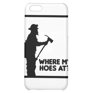 Where My Hoes At Case For iPhone 5C