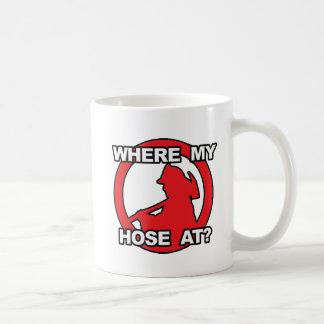 Where My Hose At? Basic White Mug