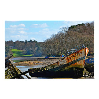 Where old boats go to retire custom stationery