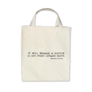 Where Orchards Thrive Tote Bag