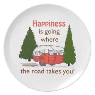 Where Roads Takes You Plate