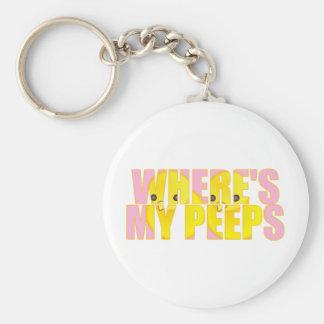 Where s My Peeps Key Chains