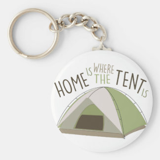 Where Tent Is Key Ring