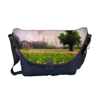 Where the Clary Sage Grows Messenger Bag