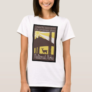 where the deer and antelope play T-Shirt