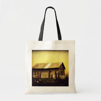 Where the Roosters Still Crow Budget Tote Bag