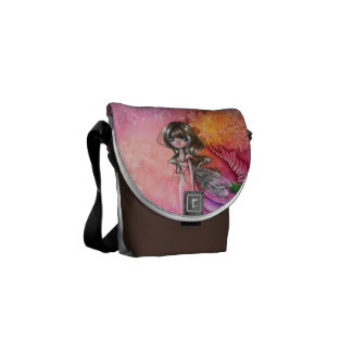 Where The Wind Blows Mini Messenger Courier Bags