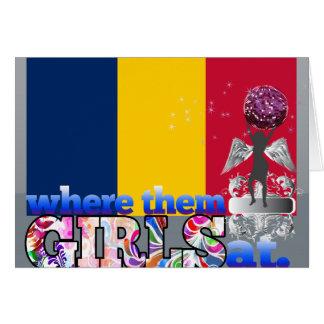 Where them Chadian girls at Card