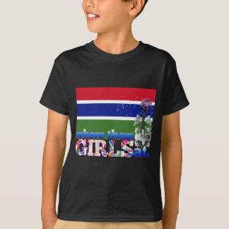 Where them Gambian girls at? T-shirt