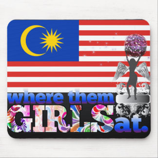 Where them Malaysian girls at? Mouse Pad