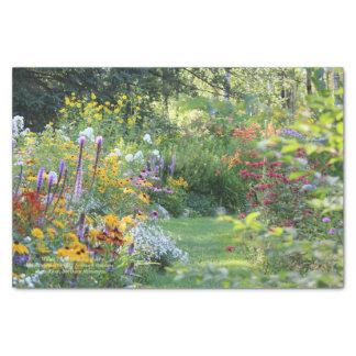 Where Three Gardens Meet Tissue Paper