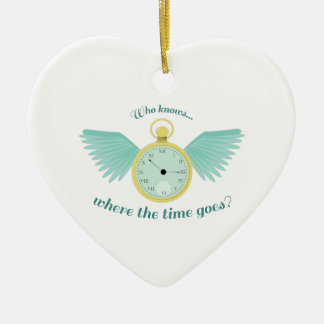 Where Time Goes Christmas Ornament