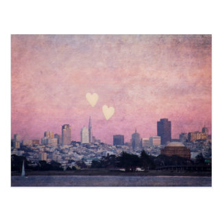 Where We Left Our Hearts San Francisco Postcard