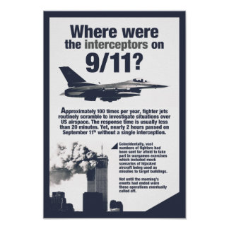 Where were the 911 interceptors? High-Res Poster