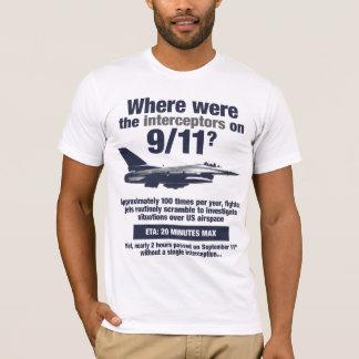 Where were the 911 interceptors? Men's T-shirt