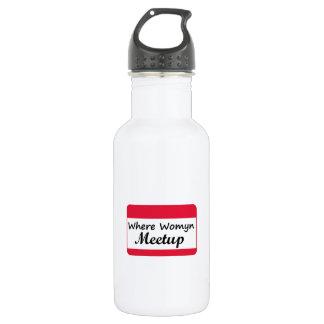 Where Womyn Meetup 532 Ml Water Bottle