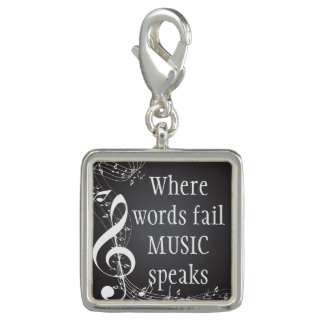 Where Words Fail Music Speaks Inspirational Quote
